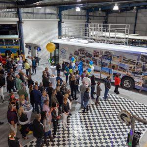 Kangaroo Bus Lines 40th anniversary celebrations - staff event