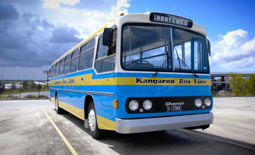 Kangaroo Bus Lines - old bus